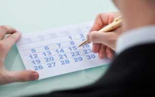 За сколько дней делать приказ на отпуск