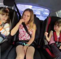 Штраф за езду без детских кресел