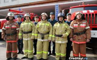 Когда пожарные выходят на пенсию