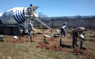 Целесообразность бетонирования винтовых свай
