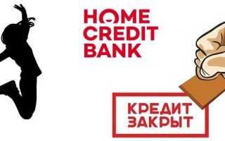 Хоум кредит заказать справку о закрытии кредита